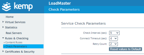 LoadMaster LMOS 7.2.52 firmware feature enhancements