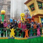 Can you spot the Workman Author at the Macy's Thanksgiving Day Parade?