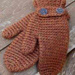 Crocheted November Mittens