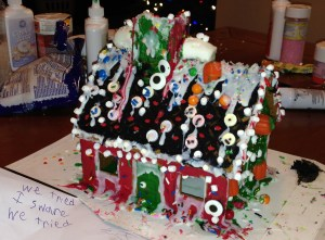 Gingerbread House of Horros