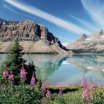 Travel Tuesday: Bow Lake and Crowfoot Mountain