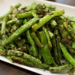BEAN BY BEAN: Oven-Roasted Green Beans