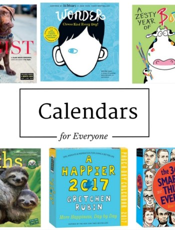 calendar gift guide