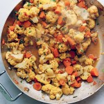 Indian-Spiced Cauliflower and Carrots