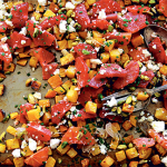 Roasted Beet & Orange Salad with Pistachios and Feta