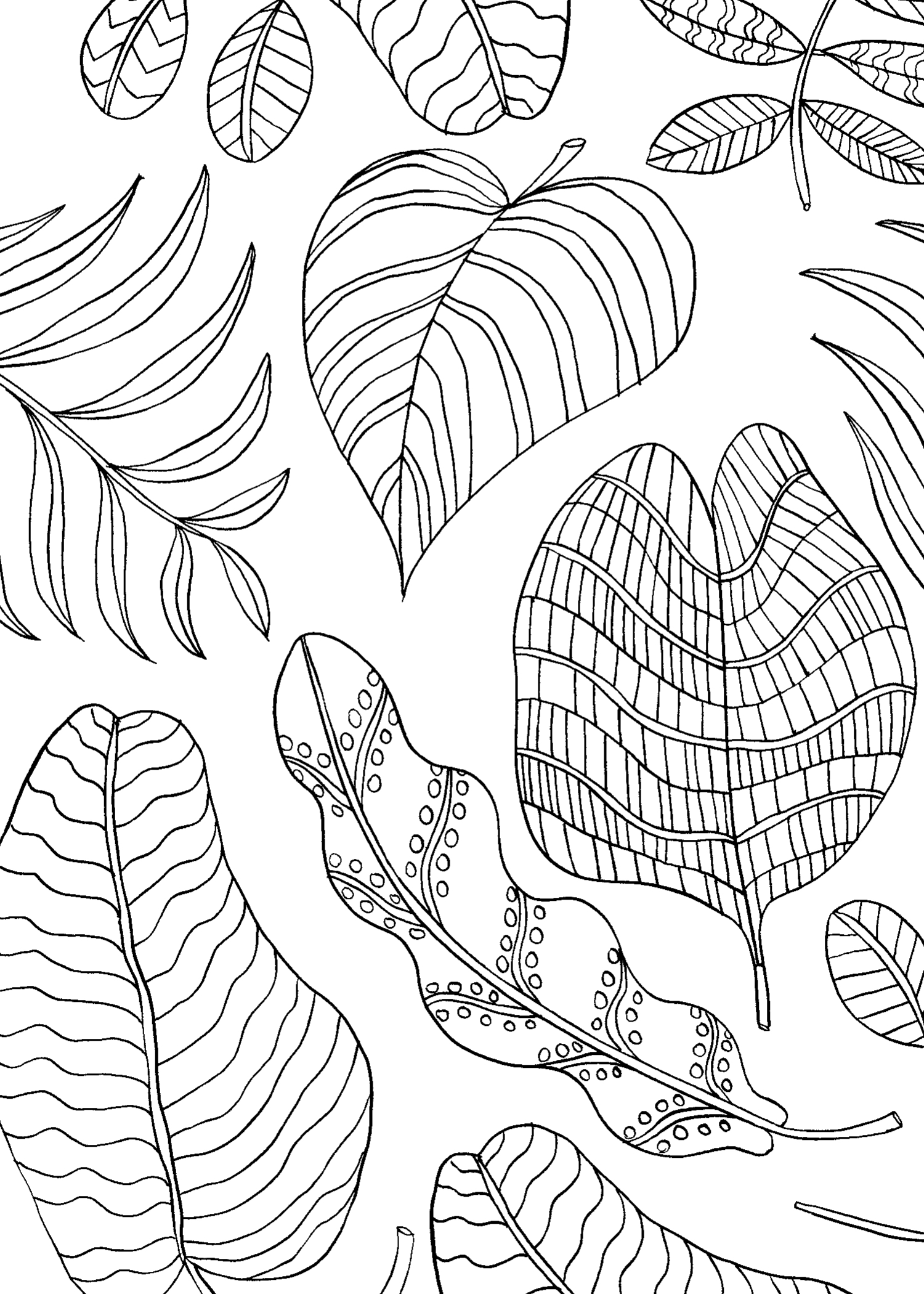 Little book of coloring for mindfulness - Click Here To Print The Coloring Pages