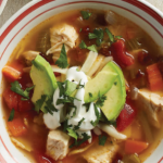 Instant Pot Chipotle-Tortilla Chicken Soup