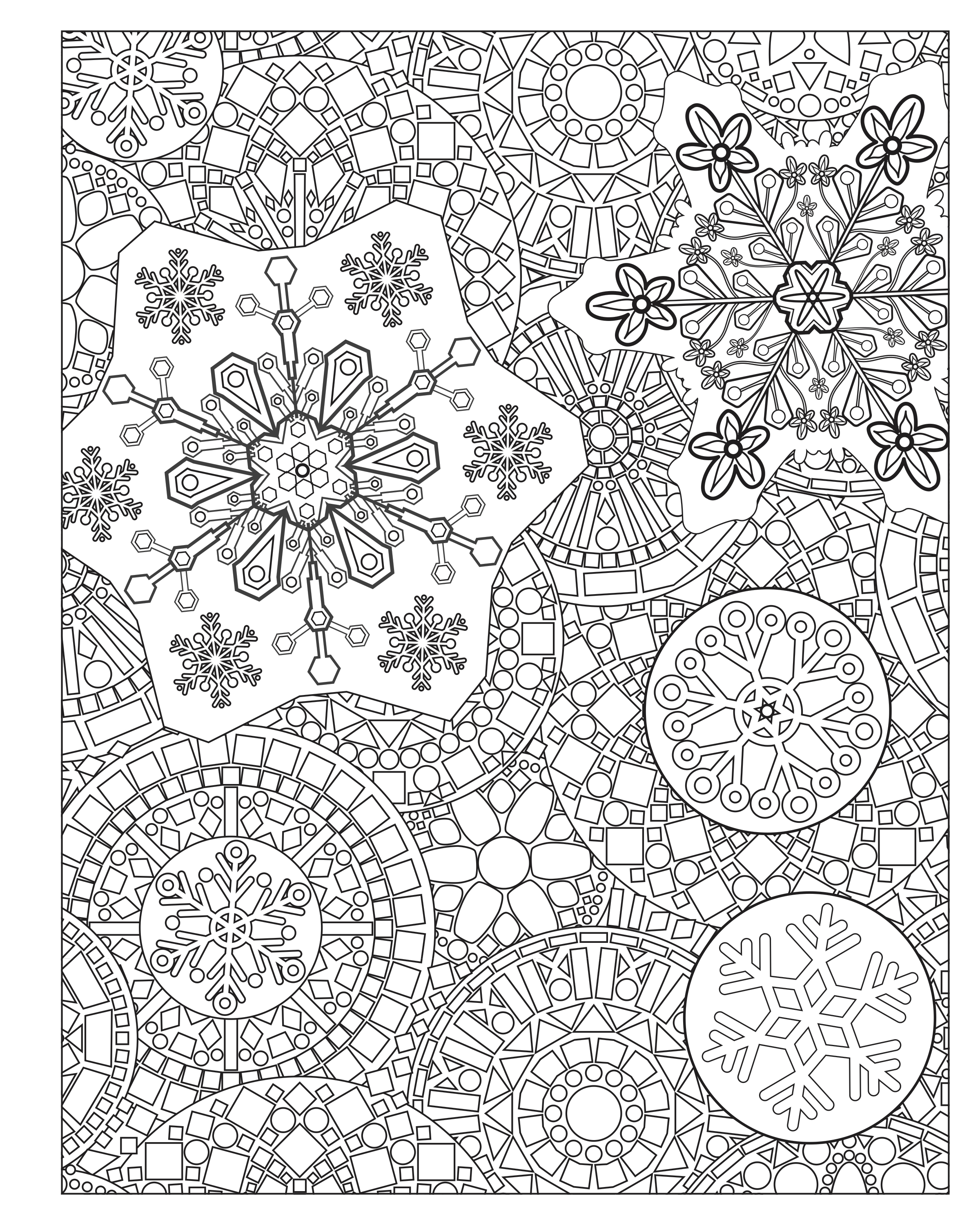 Winter Coloring Activities