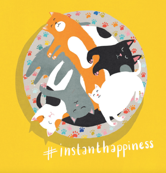 Crazy Cat Lady #InstantHappiness