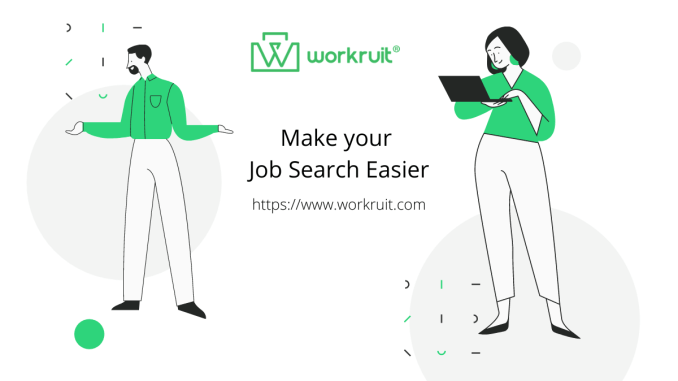Workruit - Make Your Job Search Easier With AI Based Job Search App - Android and iOS