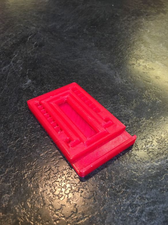 3d printed phone stand collapsed