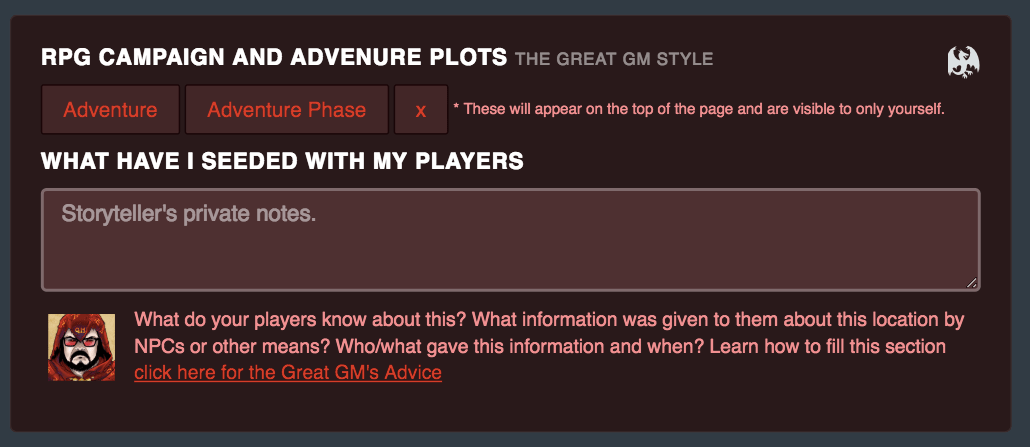 Plan Adventures the Great GM Style for Your RPG Campaign!