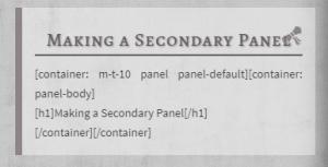 Oneriwien panel