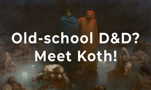 Old-school Dungeons and Dragons? Meet Koth! | Sage spotlight
