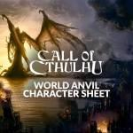 New Call of Cthulhu Character sheet!