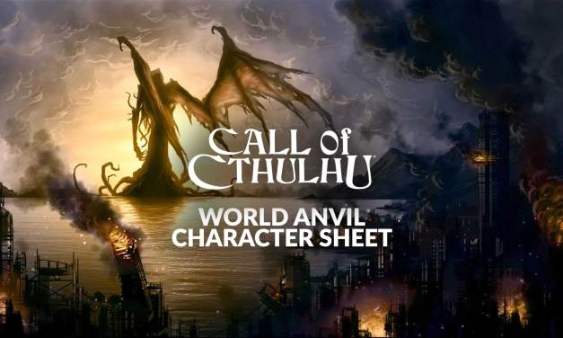 New Call of Cthulhu Character sheet!