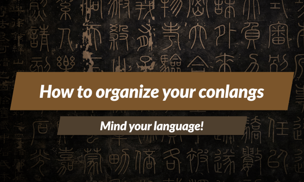 How to organize your conlangs with World Anvil