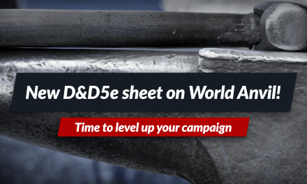 Level up your game with the new D&D sheet!