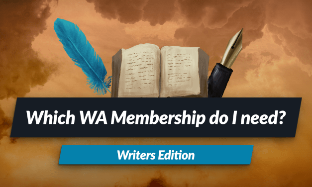 Which World Anvil subscription do you need? Writers Edition