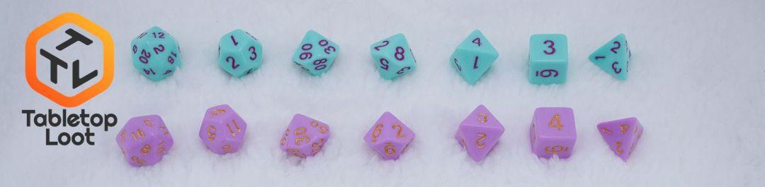 TTL dice line-up