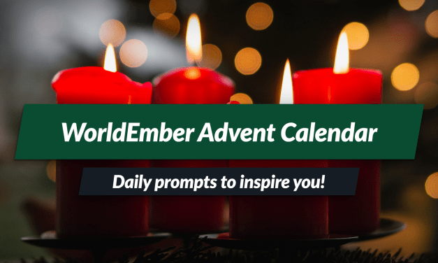 WorldEmber Advent Calendar: daily prompts for you!