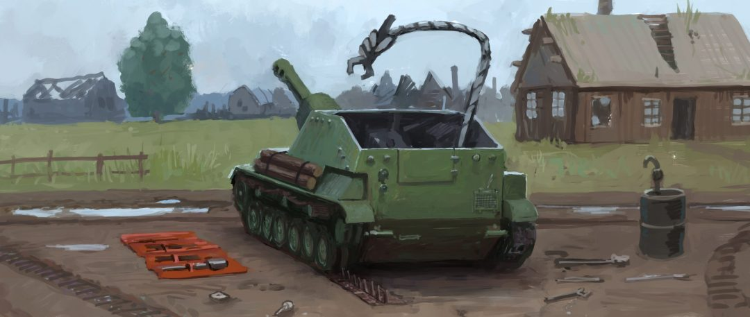 LEGENDS is a card game about tanks