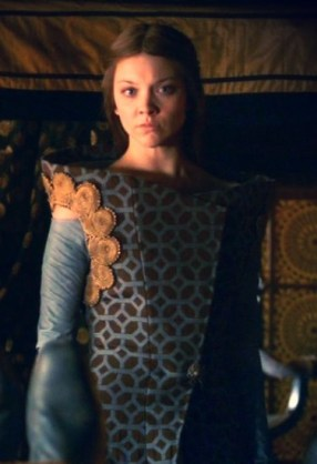 Margaery Tyrell in one of her fancy costumes