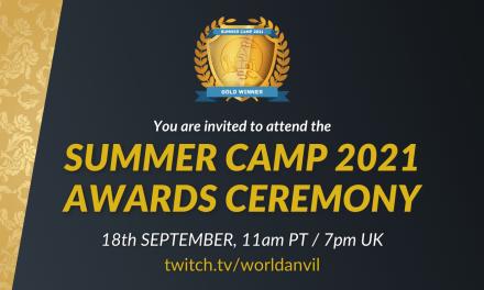 Summer Camp 2021 Awards Ceremony