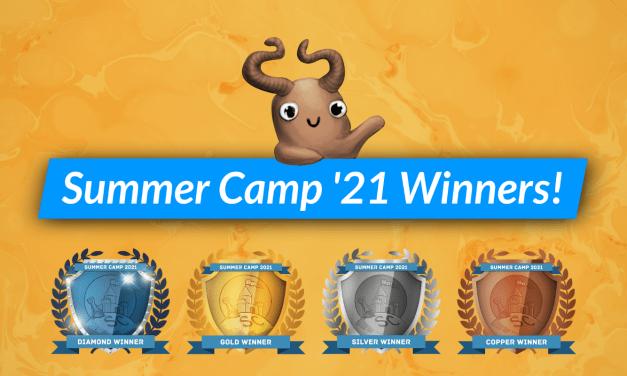 Summer Camp 2021 Winners List!