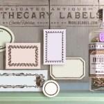 Imprimibles gratis: etiquetas estilo vintage para tus cosméticos