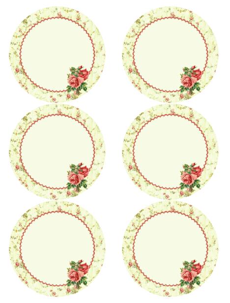 Free Vintage Rose Label Printables By Rachel Birdsell Free Printable Labels Templates Label