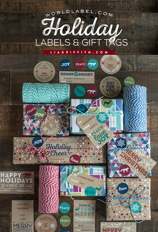 Printable Rustic Kraft Holiday Gift Tags Amp Labels
