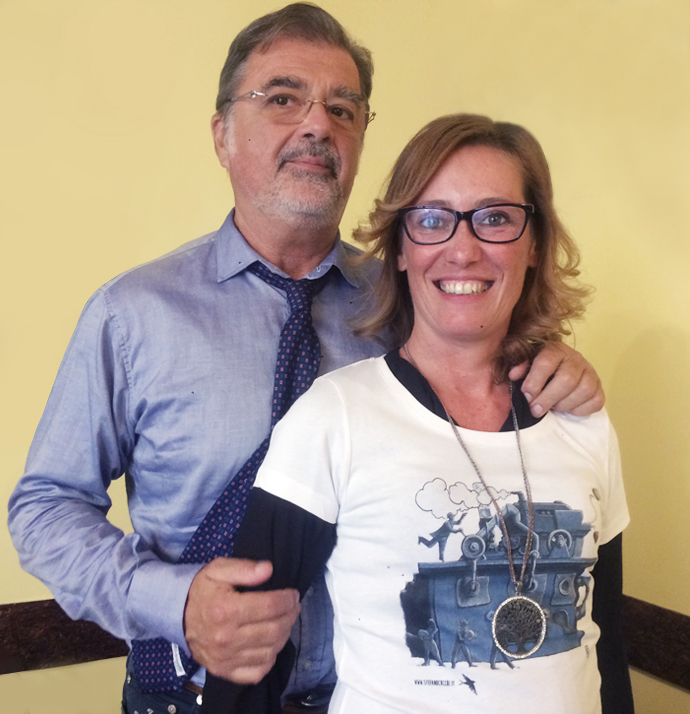 Stefano Cucchi Onlus-Ilaria Cucchi e Fabio Anselmo