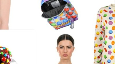 Moschino X Candy Crush and secret Fashion Collections