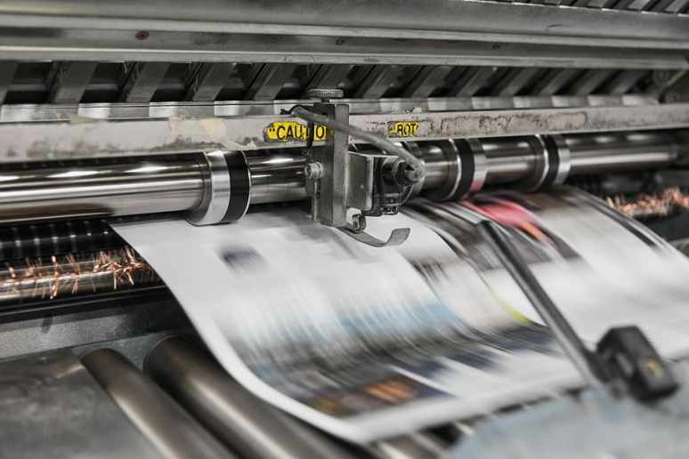 Rotačka, tiskařský stroj