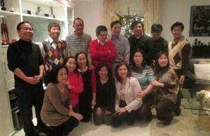 Anmerkung zum Foto: es ist gerade einmal die Hälfte der Familie abgebildet ;)