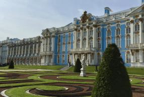 Ein Sommer in St. Petersburg