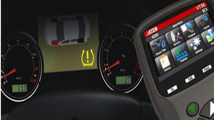 ATEQ VT56 RDKS Sensoren auslesen