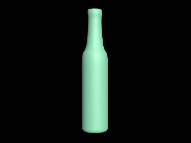 【Max基礎建模入門】3DsMax介面+基礎塊面建模(酒瓶)