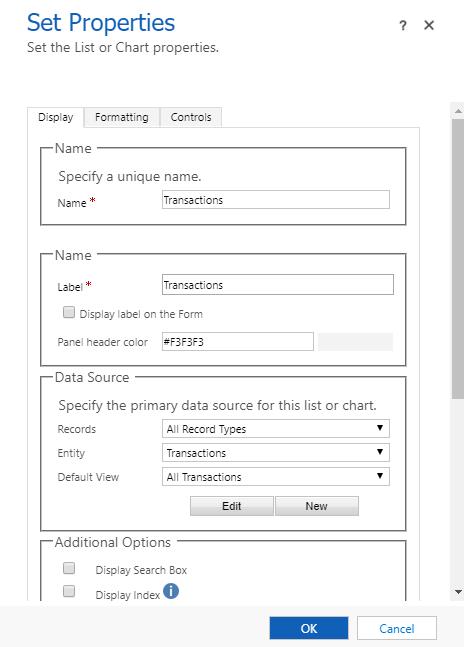 Virtual Entity sub-grid configuration to return all records