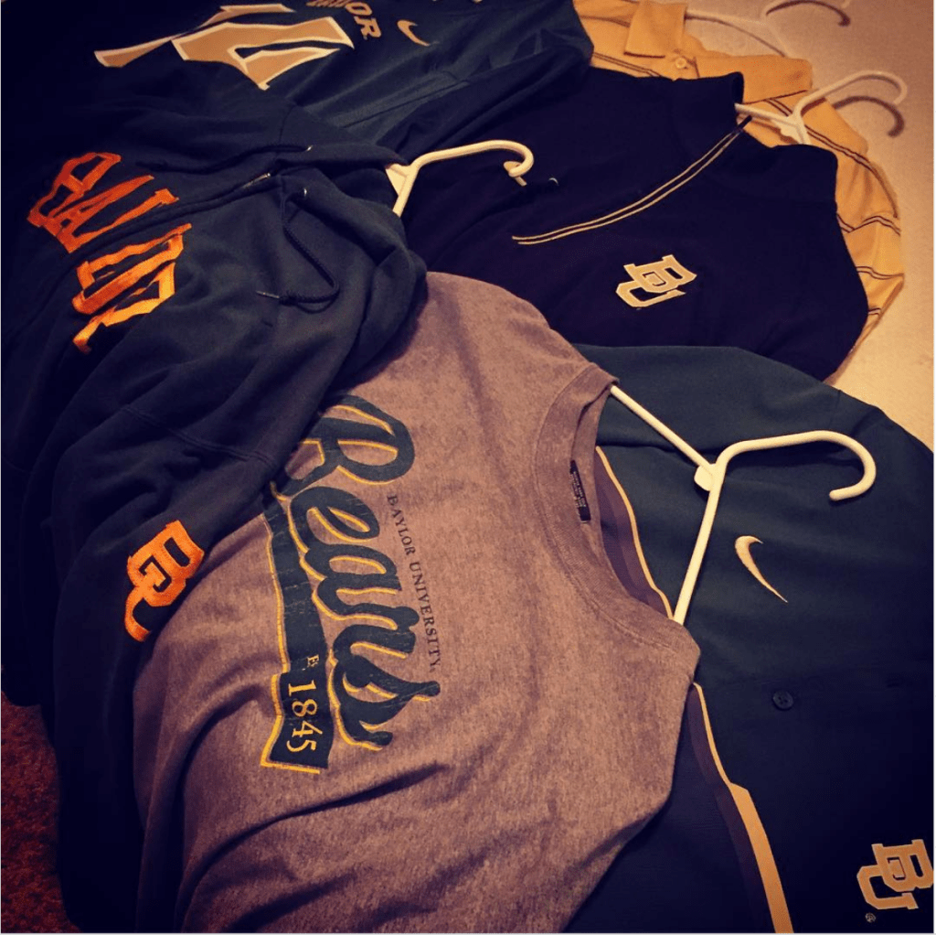 Can you say Baylor gear?
