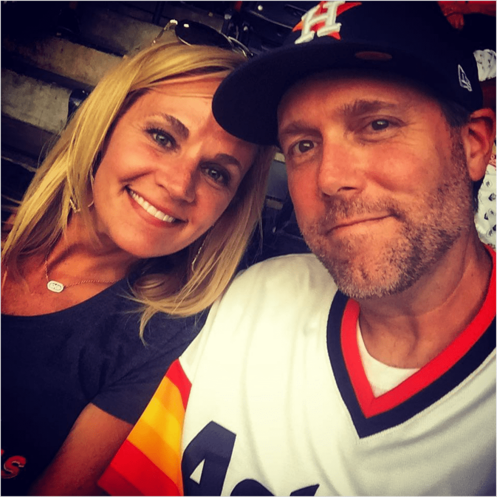 Yancey and Jennefer try to catch as many Astros' games they can make