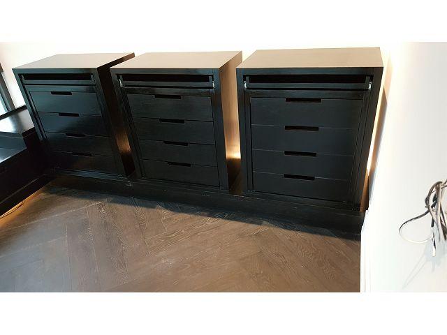 木工裝潢-更衣室矮櫃