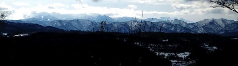 大休場からの山