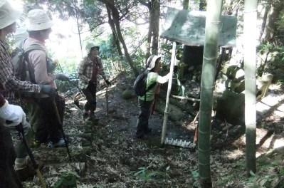 富樫晴貞の墓