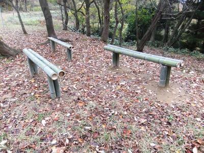 4待望のベンチ