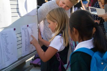 Checking the class lists.
