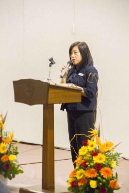 Lisa Tsai, President of the YHS Parents' Association