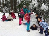 Ms. Tinder and her Gr. 3 Class: Cypress Mountain Snow Day