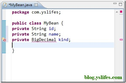 Java Error information
